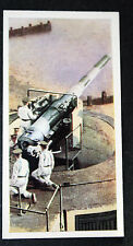 British Coastal  6 Inch Calibre  Defence Artillery      Vintage Colour Card  VGC