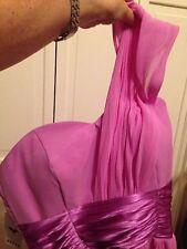 New Long Lavender Evening Dress Weddinng Formal Gown Bridesmade Chiffon Lined 10