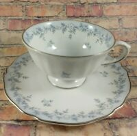 FRANCONIA-KRAUTHEIM  4 Footed Cup & Saucer Set Teacup Germany Delphine Baveria