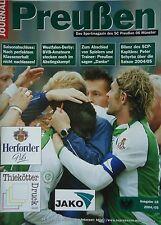 Programm 2004/05 SC Preußen Münster - Borussia Dortmund Am.