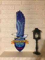 Richfield Eagle Hi Octane Gasoline Logo Heavy Steel Laser Cutout Sign New