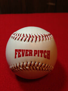 Fever Pitch Movie Baseball Autographed Jimmy Fallon Drew Barrymore Simulated