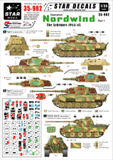 Star Decals, 35-982 Operation Nordwind #1 German Tanks in the Ardennes ,1:35
