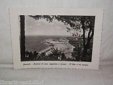 Vecchia cartolina foto d epoca di Soverato Lido e via marina panorama veduta