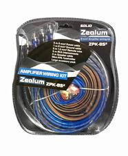 ZEALUM SOLID Powerkabelset 8mm2 ZPK-8S2 Kabelset für Endstufen Verstärker NEU