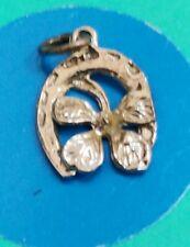 Charm T9 Horseshoe Clover Sterling Silver Vintage Bracelet