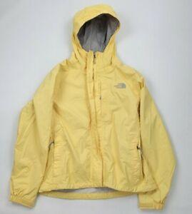 The North Face Yellow Light Rain Jacket Women's Size Small