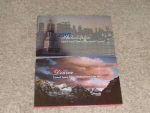 2007 P & D Philadelphia & Denver Uncirculated Mint SET