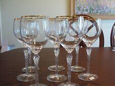"LENOX MONROE 8 WATER GLASSES 8 1/2"""