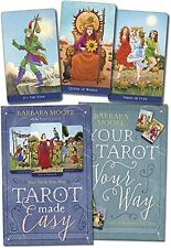 Tarot Made Easy Kit Book & Deck Cards Wiccan Pagan Metaphysical