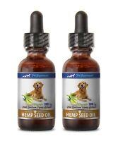 dog skin omega 3 - DOG HEMP SEED OIL 780MG - dog hemp hip joint supplement 2B