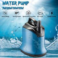 7W-55W 4500L/H Mini Submersible Water Pump Aquarium Pond Fish Tank Fountain 220V