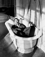8x10 Print Cary Grant Laying in Bath Tub #3665