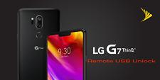 LG G7 ThinQ G710PM SIM UNLOCK SPRINT BOOST INSTANT SERVICE REMOTE USB