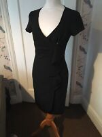 star dress julian macdonald size 10 Black Wrap