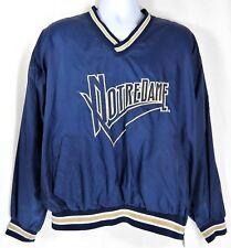 Vintage Chalk-Line Notre Dame Windbreaker Jacket Men L Pullover Fighting Irish