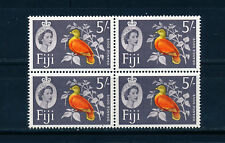 FIJI 1962-1966 DEFINITIVES SG323 5s. BLOCK OF 4 MNH