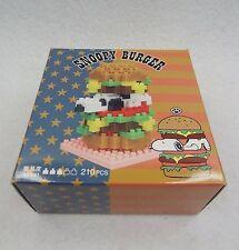 nanoblock USJ Snoopy Burger