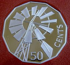 2002 50 cent commemorative proof coin from set.Year of the Outback! 39,514 made!