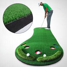 Golf Putting Mat Golf Putter Trainer Green Putter Carpet Big Feet Golf Trainer