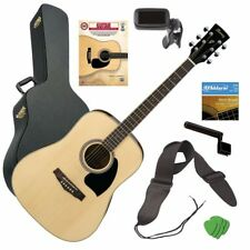 Ibanez PF15WC Acoustic Guitar - Natural GUITAR ESSENTIALS BUNDLE