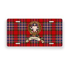 MacFarlane Scottish Clan Novelty Auto Plate Tag Family Name License Plate