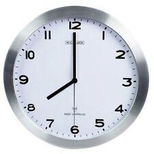 Große Wanduhr Funkuhr Uhr Radio Controlled Quarz Clock 30,5cm