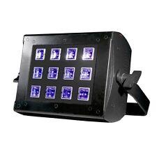 American DJ UV inundación 36 de luz negra ultravioleta Cannon 12 X 3 W LED Luz DMX