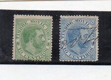 España Monarquias Valores Fiscal Postal del año 1885-86 (CT-321)