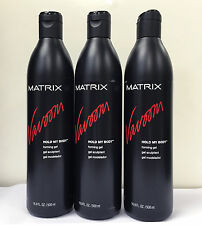 Matrix Vavoom Hold My Body Forming Gel 16.9 oz 500 ml 3 PACK SPECIAL
