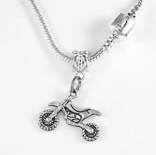 Dirt Bike Necklace Motocross Gift Biker best jewelry Present motocross best gift