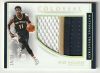 2016-17 Panini National Treasures Colossal Jrue Holiday Jersey Patch /23 NAME