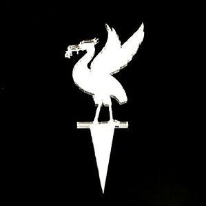 Liver Bird (LFC) Cake & Cupcake Toppers, Many Colours & Sizes Plain or Engraved