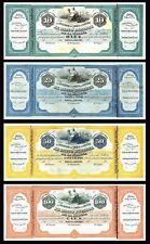 Facsimil Lote Banco Español de la Habana 1869 Sagua La Grande - Reproduction
