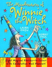 The Misadventures of Winnie the Witch,Laura Owen, Korky Paul