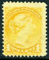 Canada 1897 Small Queen1¢ Yellow Scott #34 MNH V716