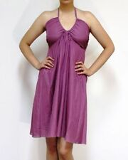 Summer/Beach Regular Dry-clean Only Solid Dresses for Women