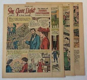 1966 six page cartoon story ~ MARIA MONTESSORI part 2