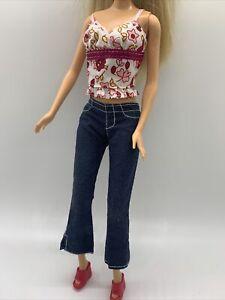 Tênis Branco Rosa Barbie Patins se encaixa Fashionista Modelo curvas Liv Dolls