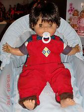 Raro y maravilloso muñeco Famosa talla de un niño de verdad años 70, epc Nancy