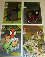 Complete Set Birth of Spider-man Foil covers Web of 117 Amazing 394 51 217 Clone