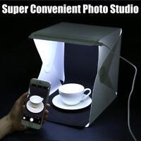 Portable Mini Light Room Photo Studio Photography Lighting Tent Kit Backdrop Box