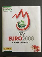 Panini Euro EM 2008 Stickeralbum komplett, sehr guter Zustand, m. Bestellschein