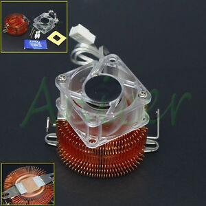 Copper Adjustable Heatsink Fin Cooler w/Fan For PC Northbridge Chipset Cooling