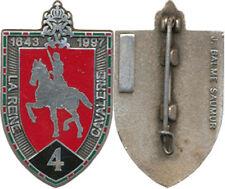 4° Régiment de Cuirassiers, 1643 1997, insigne de dissolution, Balme (0874)
