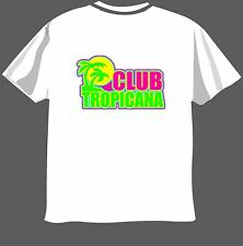 CLUB TROPICANA, Golpetazo, Gearge Micheal, Camiseta Graciosa Para Hombre Mujer