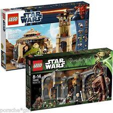 LEGO Star Wars Jabba'a Palace 9516 and Rancor Pit 75005 NIB COMBO