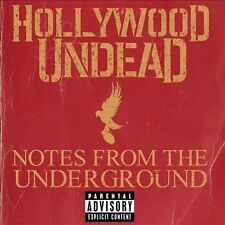 HOLLYWOOD UNDEAD Notes from the Underground [PA](CD, Jan-2013) [11 TRACKS]
