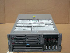 HP Proliant DL580 G3 Server Quad Dual Core Xeon CPUs 8GB 4x146GB HT VT 64-Bit