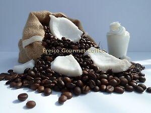 Coconut Cream Flavour Decaffeinated Coffee Beans 100% Arabica Bean Ground Coffee